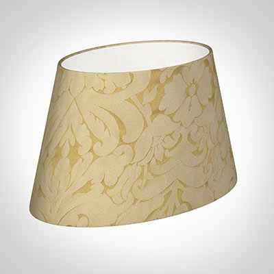 35cm Sloped Oval Shade in Gold Chatsworth