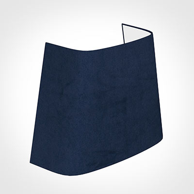 22cm Penrose Half Shade in Navy Blue Hunstanton