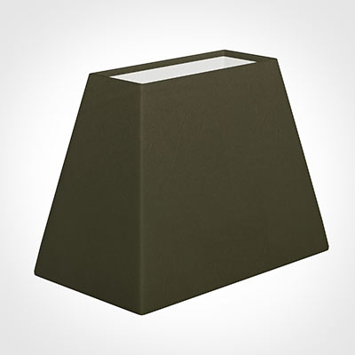 36cm Sloped Rectangle Shade in Laurel Satin