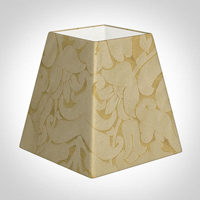 15cm Sloped Square Shade in Gold Chatsworth