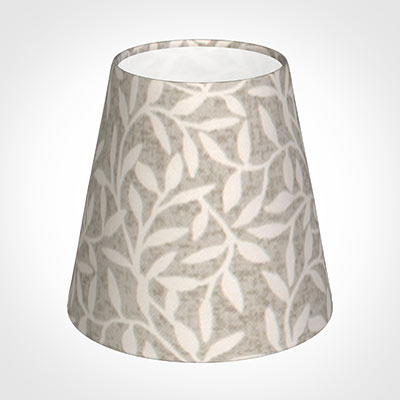 Tapered Candle Shade in Grey Marl Arbour
