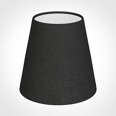 Tapered Candle Shade in Elephant Waterford Linen