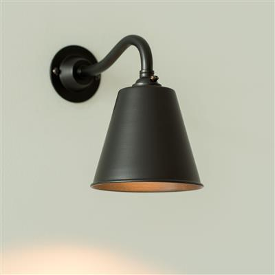 Club Wall Light in Matt Black