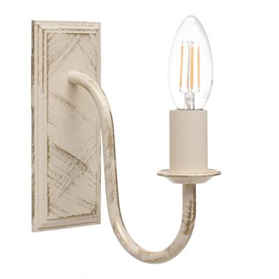 Single Gosford Wall Light in Old Ivory