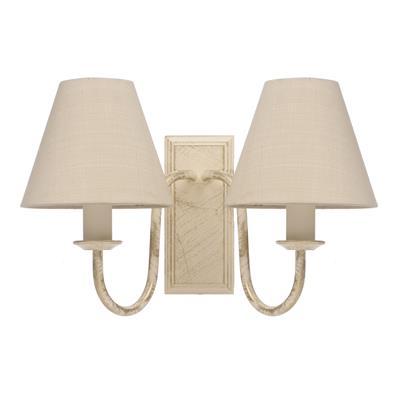 Double Gosford Wall Light in Old Ivory