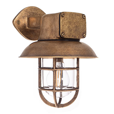 Brass Britannia Ship S Light Outdoor Wall Lights Jim Lawrence
