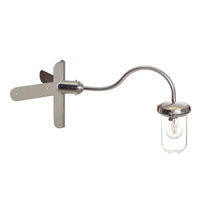 Stable Light, Corner Mounting, Stainless Steel