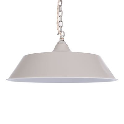 Balmoral Pendant Light in Clay