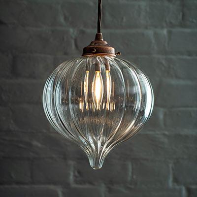 Ava Glass Pendant Light