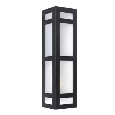 Hinton Wall Light in Matt Black