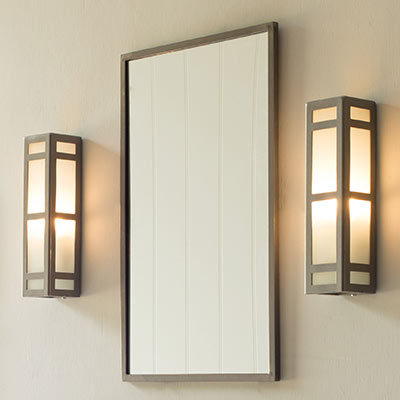 Hinton Wall Light in Polished