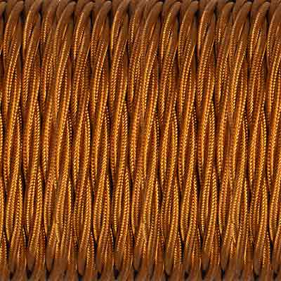 Bronze Braided Cable