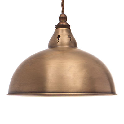 Butler Pendant Light in Antiqued Brass