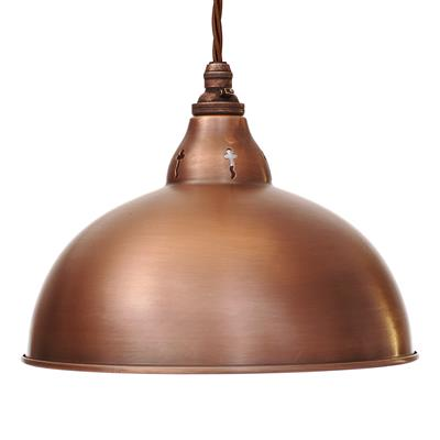 Butler Pendant Light in Heritage Copper
