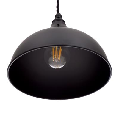 Butler Pendant Light in Matt Black
