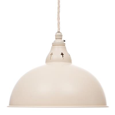 Butler Pendant Light in Plain Ivory