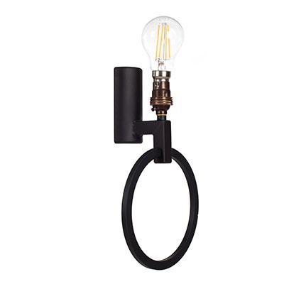 Modern Lighting Harrington Hand Forged Steel Wall Light