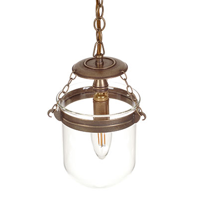 Chichester Pendant Light in Antiqued Brass