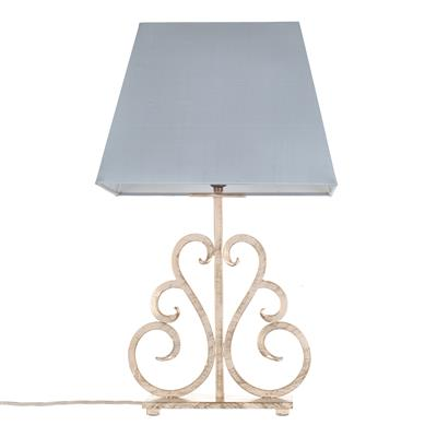 Decorative table lamp jalousie old ivory table light jim lawrence 316oi 1g aloadofball Images