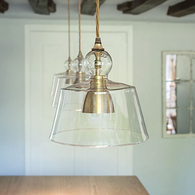 kitchen pendant lighting uk antiqued brass kitchen pendant light lovell glass shade 5514