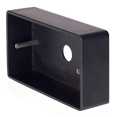 Matt Black | Double Surface Mounting Box | Electrical ...