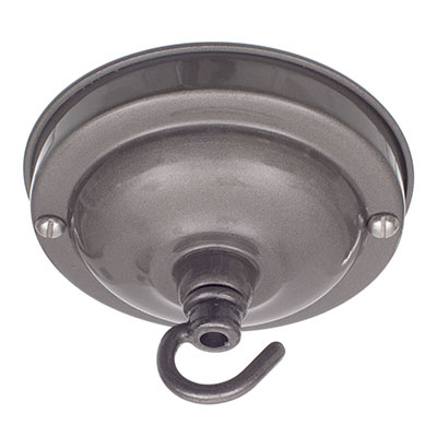 Fordham Ceiling Rose with Hook in Polished