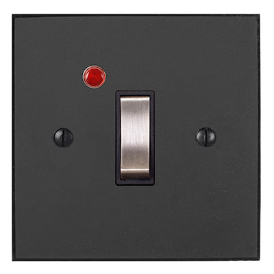 Double Pole Isolator (Neon) Beeswax Bevelled(discontinued, only stock shown available)