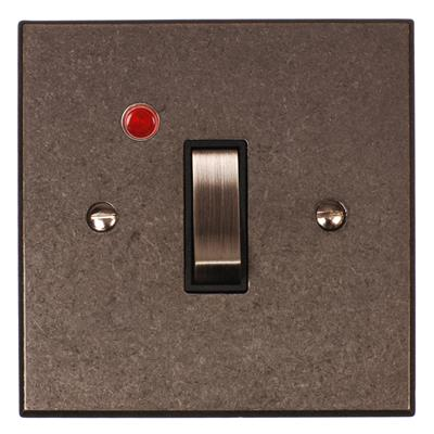 Double Pole Isolator (Neon) Polished Bevelled(discontinued, only stock shown available)