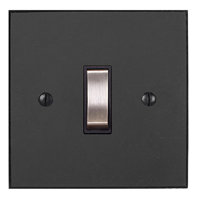 Double Pole Isolator (No Neon) Beeswax Bevelled(discontinued, only stock shown available)