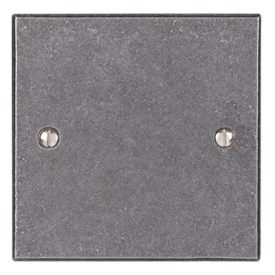 Single Blank Bevelled Plate in Polished