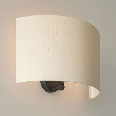 Thorpe Wall Light in Beeswax