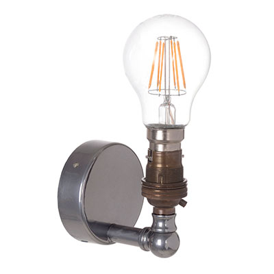 Thorpe Wall Light in Mercury