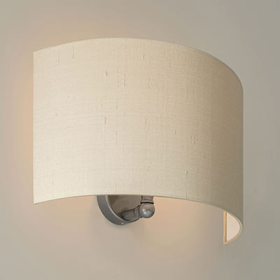 Thorpe Wall Light in Polished