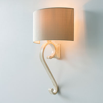 Millfield Wall Light in Old Ivory