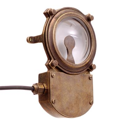Doncaster LED Outdoor Light in Antiqued Brass