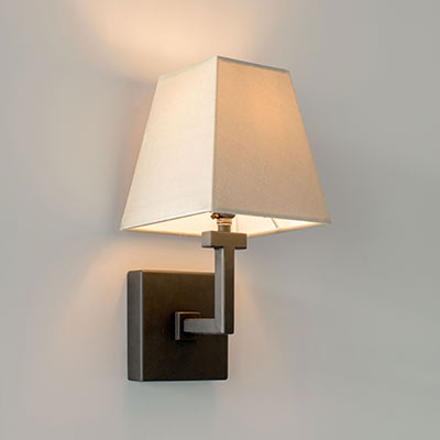 Gresham Wall Light in Beeswax