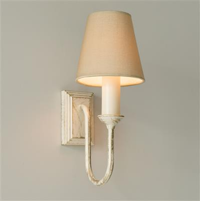 Rowsley Single Wall Light in Old Ivory