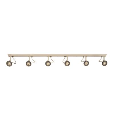 Edgeware Spotlight Strip in Plain Ivory - 6 Spots