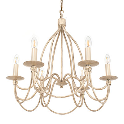 Florentine Pendant Light in Old Ivory