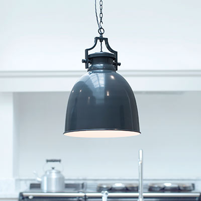 Lexington Pendant Light in Slate Grey