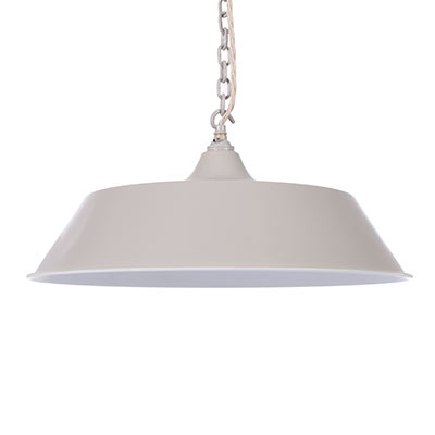 Large Balmoral Pendant Light in Clay