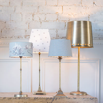 Hendon Table Lamp in Antiqued Brass