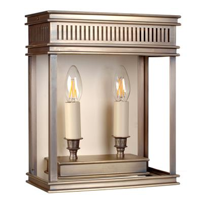 Chelsea Lantern in Antiqued Brass