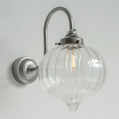 Mia Wall Light in Polished