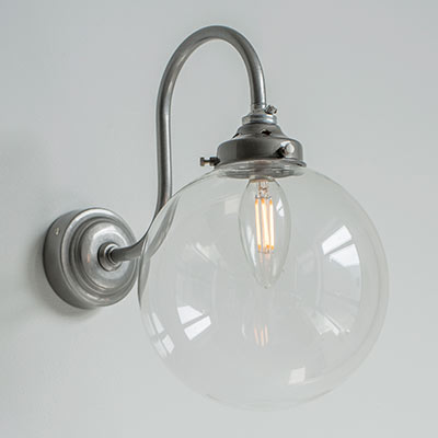 Compton Wall Light in Polished