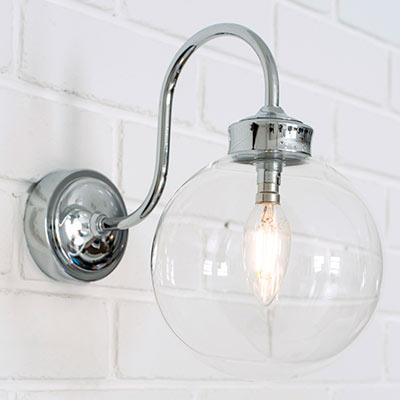 Compton Bathroom/Outdoor Wall Light