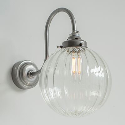 Putney Wall Light in Polished