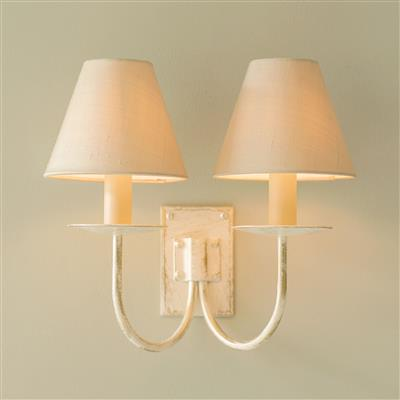 Double Smuggler's Wall Light in Old Ivory
