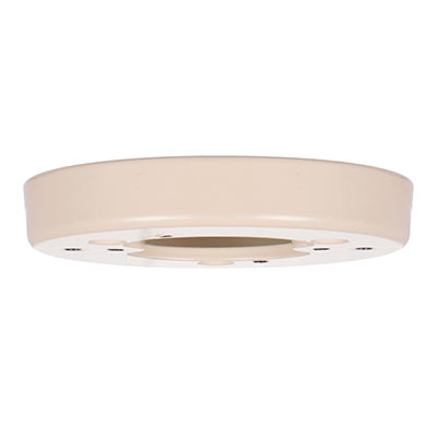 Georgian Lighting Pattress in Plain Ivory