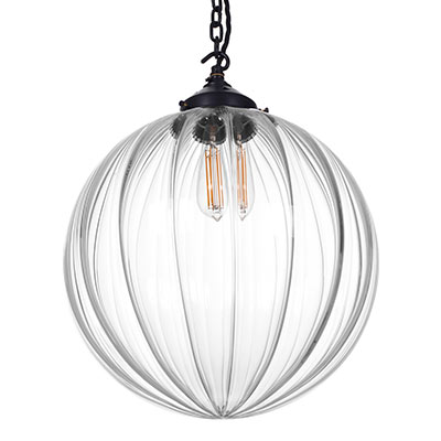 Greenwich Pendant Light in Matt Black